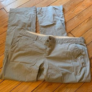 NEVER WORN! Old Navy Gray Trousers - 18